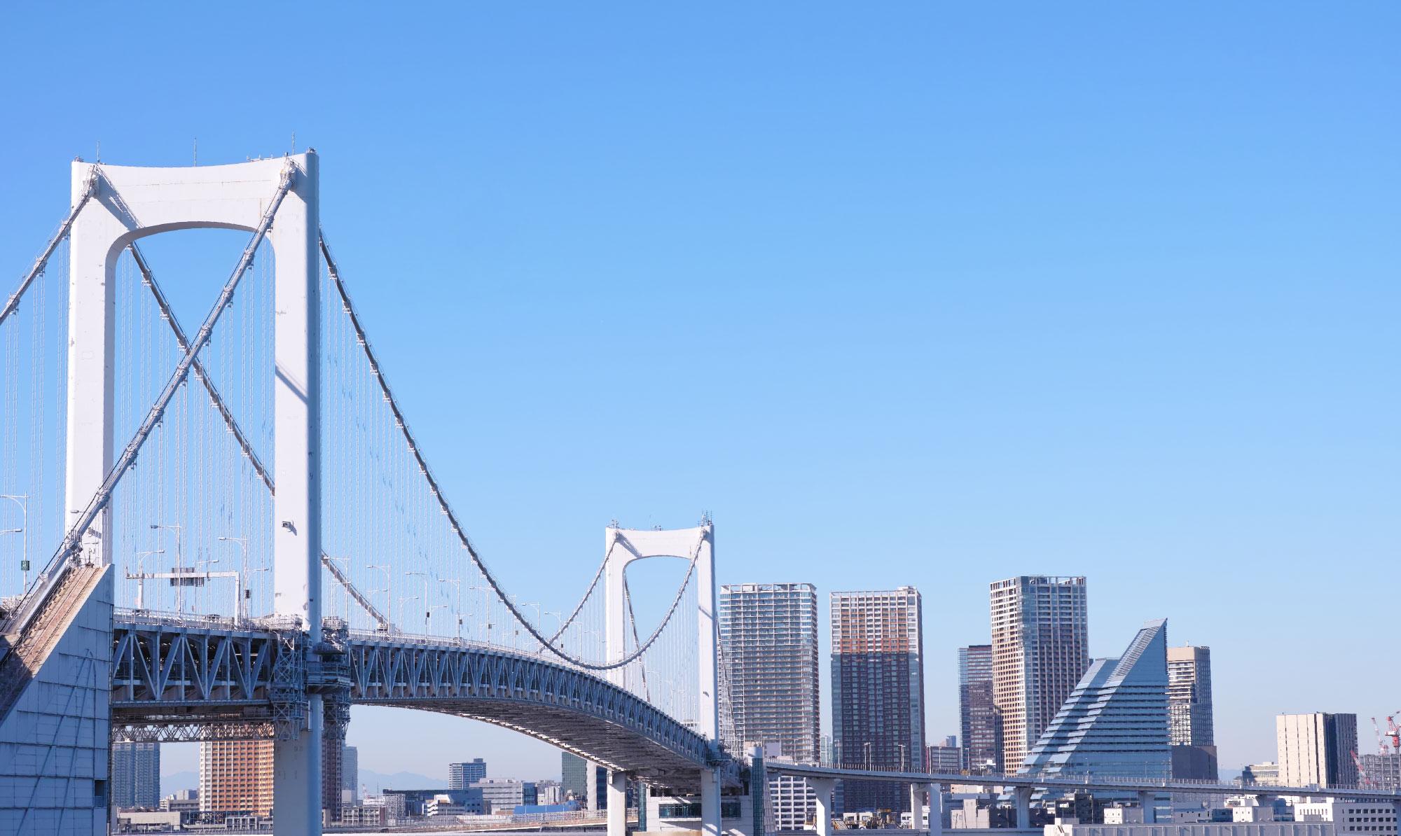 都会のブリッジ